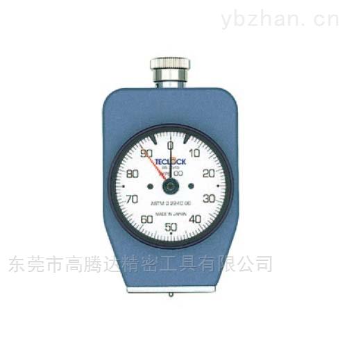 日本TECLOCK ASTM D 2240标准型橡胶硬度计