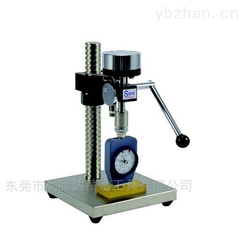日本TECLOCK得乐手动型橡胶硬度计测式台