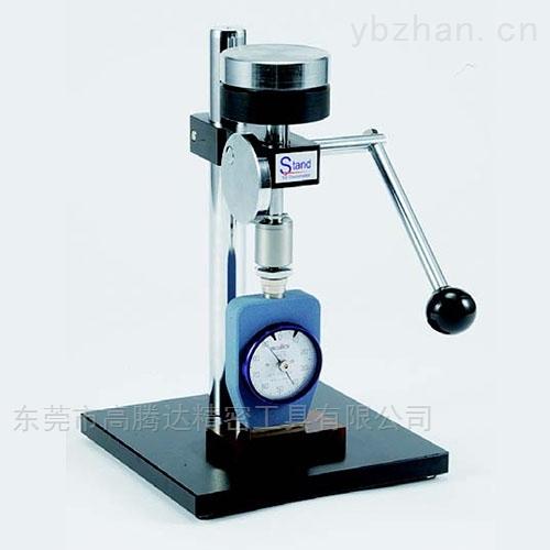 日本TECLOCK手动型橡胶硬度计定压测试台