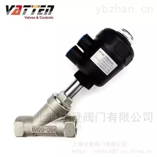 法登气动角座阀规格选型,角座阀说明