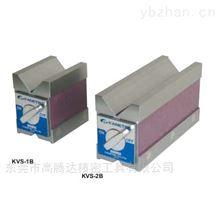 日本KANETEC强力牌KVSV型槽永磁夹具磁性座
