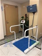 SCS医疗行业电子秤,防腐蚀300KG透析轮椅秤