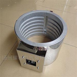 双半圆形铸铝电加热器厂家