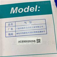 亚德客ACE50X250SB气缸说明