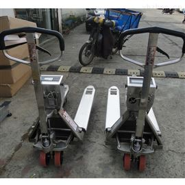 2.5吨不锈钢电子叉车秤 2.5t液压电子秤叉车