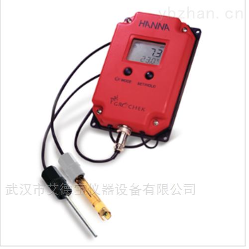悬挂式在线连续pH/温度测定仪