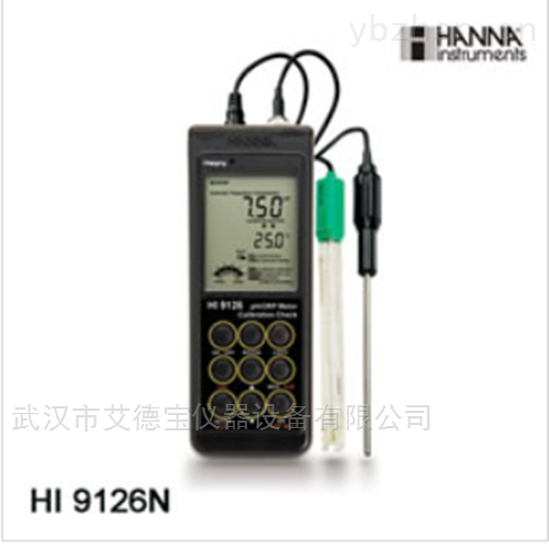 防水型便携式pH/ORP/温度测定仪