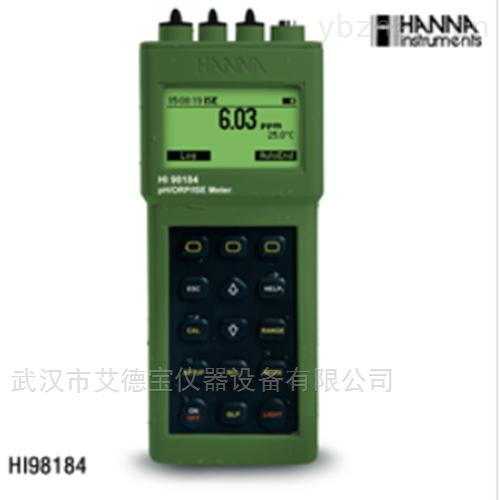 防水型便携式pH/ORP/ISE/温度测定仪