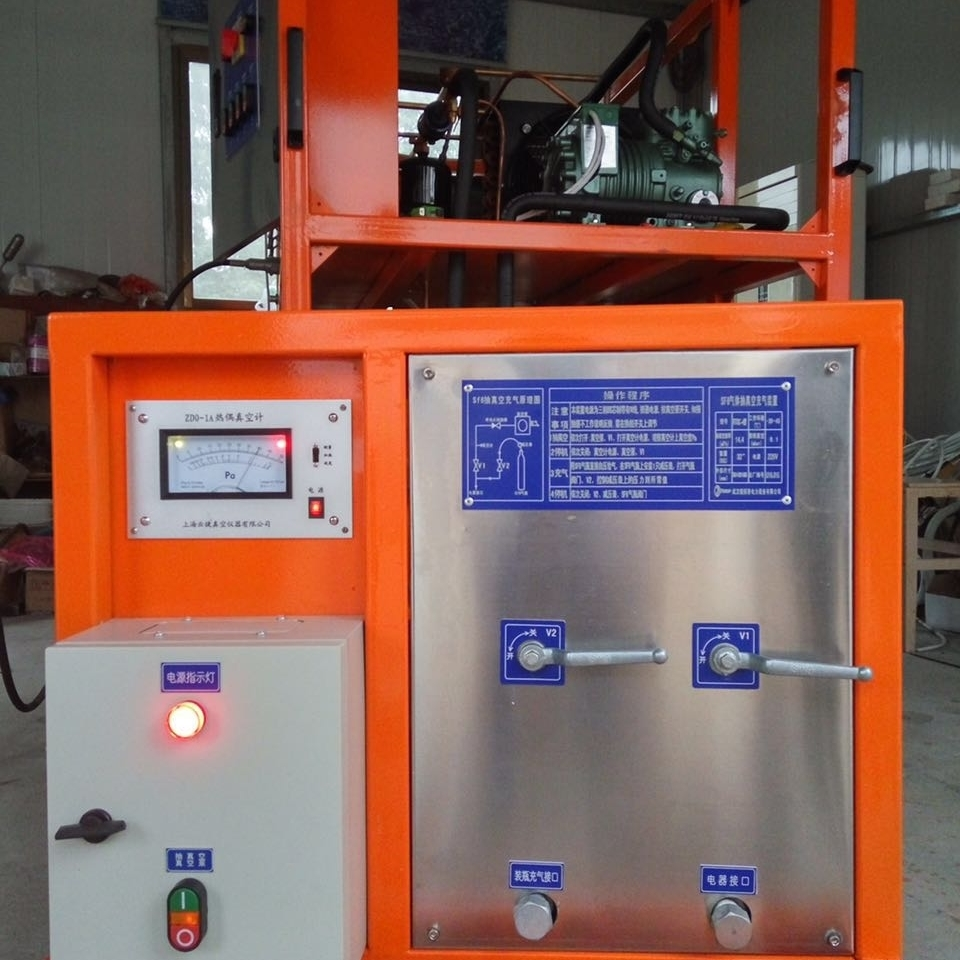 SF6气体回收装置储存