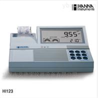 HI123内置打印微电脑pH/ORP/ISE/温度测定仪