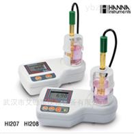 HI207多用途磁力搅拌器微电脑pH/温度测定仪