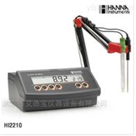 HI2210实验室台式微电脑pH/ORP/温度测定仪