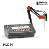 HI2214实验室微电脑pH/ORP/温度测定仪