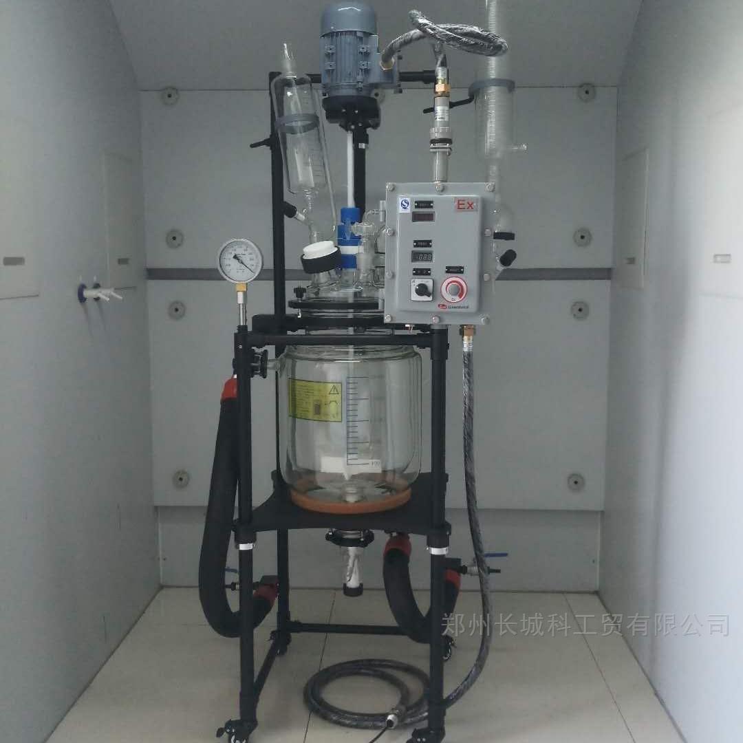 整机喷四氟玻璃反应釜