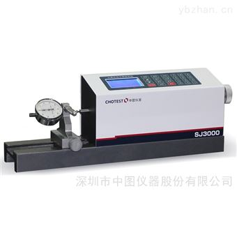 中图仪器SJ3000百分表检定仪 千分表检定仪 手动