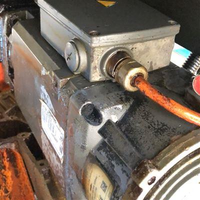 修復解決鉆銑中心西門子828D主軸電機接地