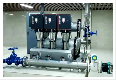 无负压管网叠压稳流给水设备