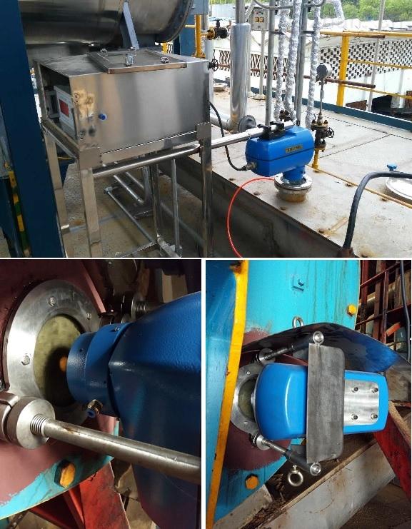 在线红外水分检测仪的应用案例