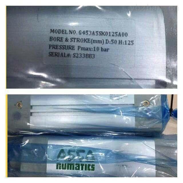 美国Numatics重载型夹紧缸,P493A4132200A00
