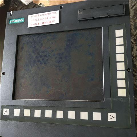 西门子系统802DSL操作按键不灵无反应