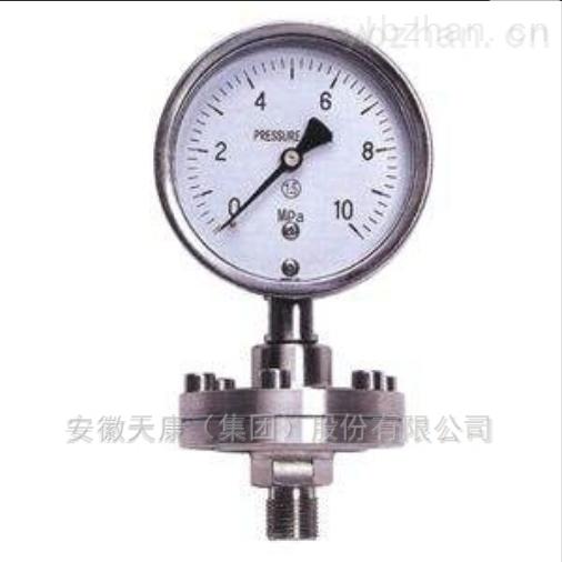 耐震压力表型号