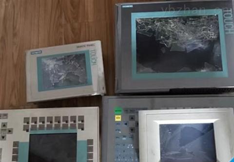 西门子触摸屏上电屏幕花屏闪修复解决及分析