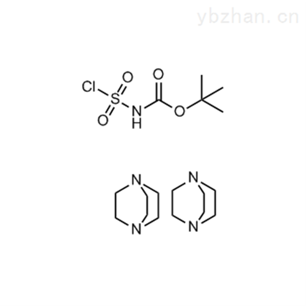 tert-Butyl chlorosulfonylcarbamate compound with 1,4-diazabicyclo[2.2.2]octane (1:2)