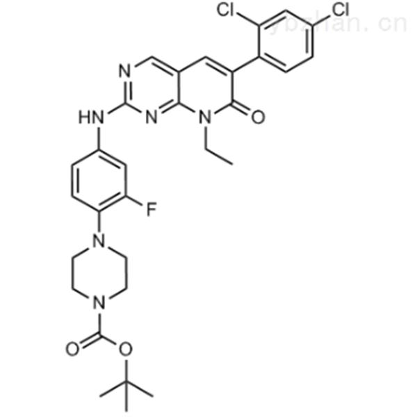 tert-butyl 4-(4-((6-(2,4-dichlorophenyl)-8-ethyl-7-oxo-7,8-dihydropyrido[2,3-d]pyrimidin-2-yl)ami...