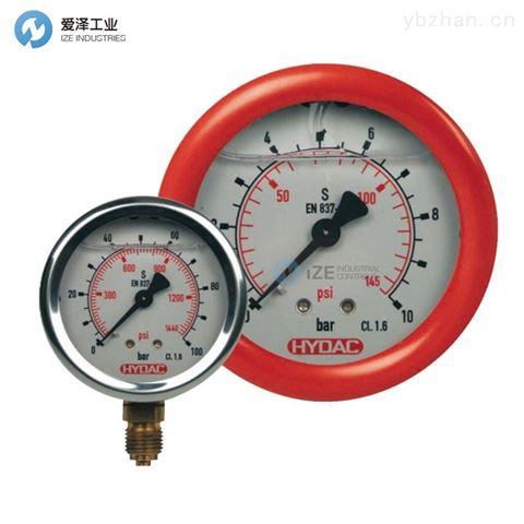 HYDAC耐震压力表HM100-16-R-M20×1.5