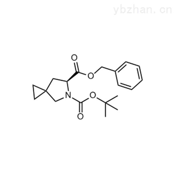 6-Benzyl 5-(tert-butyl) (S)-5-azaspiro[2.4]heptane-5,6-dicarboxylate