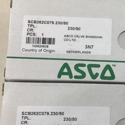 ASCO济实惠的高流量电磁阀8210G001/002