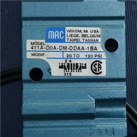 411A-DOA-DM-DDAA-1BA-美国MAC比例阀订货方式介绍