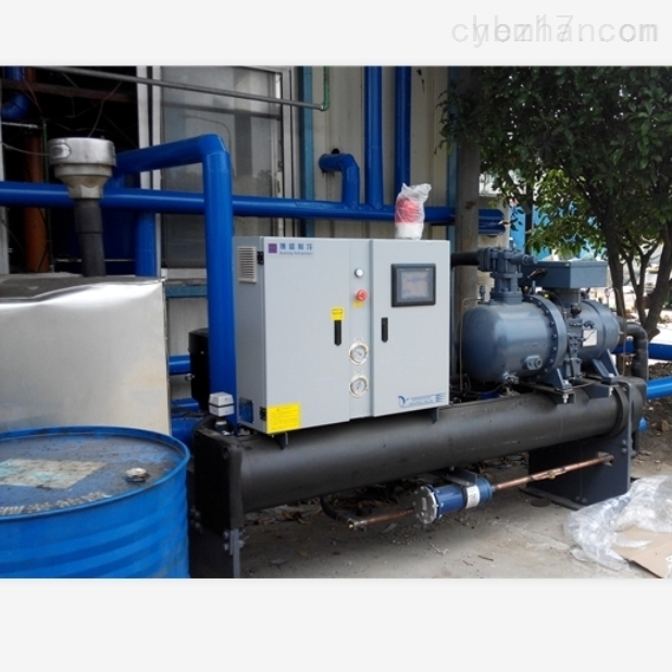 水冷螺杆式工业冷冻机组-15℃
