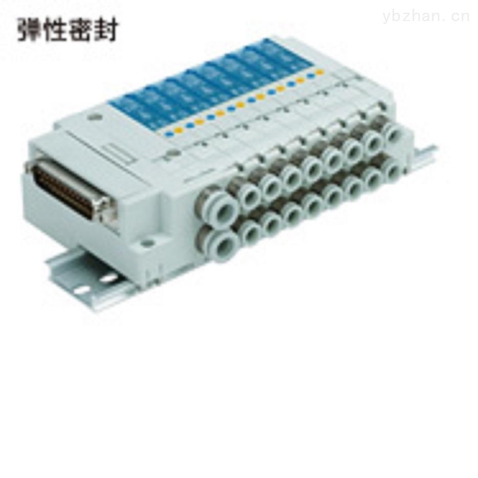 日本SMC 4通电磁阀SJ2000/3000盒型集装式