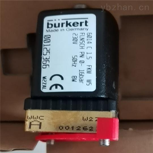BURKERT电磁阀材质说明