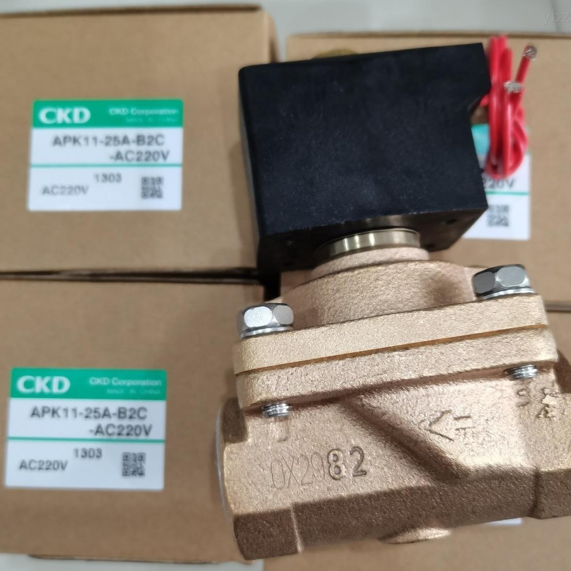 CKD电磁阀使用使用流体介绍,机种分类规格
