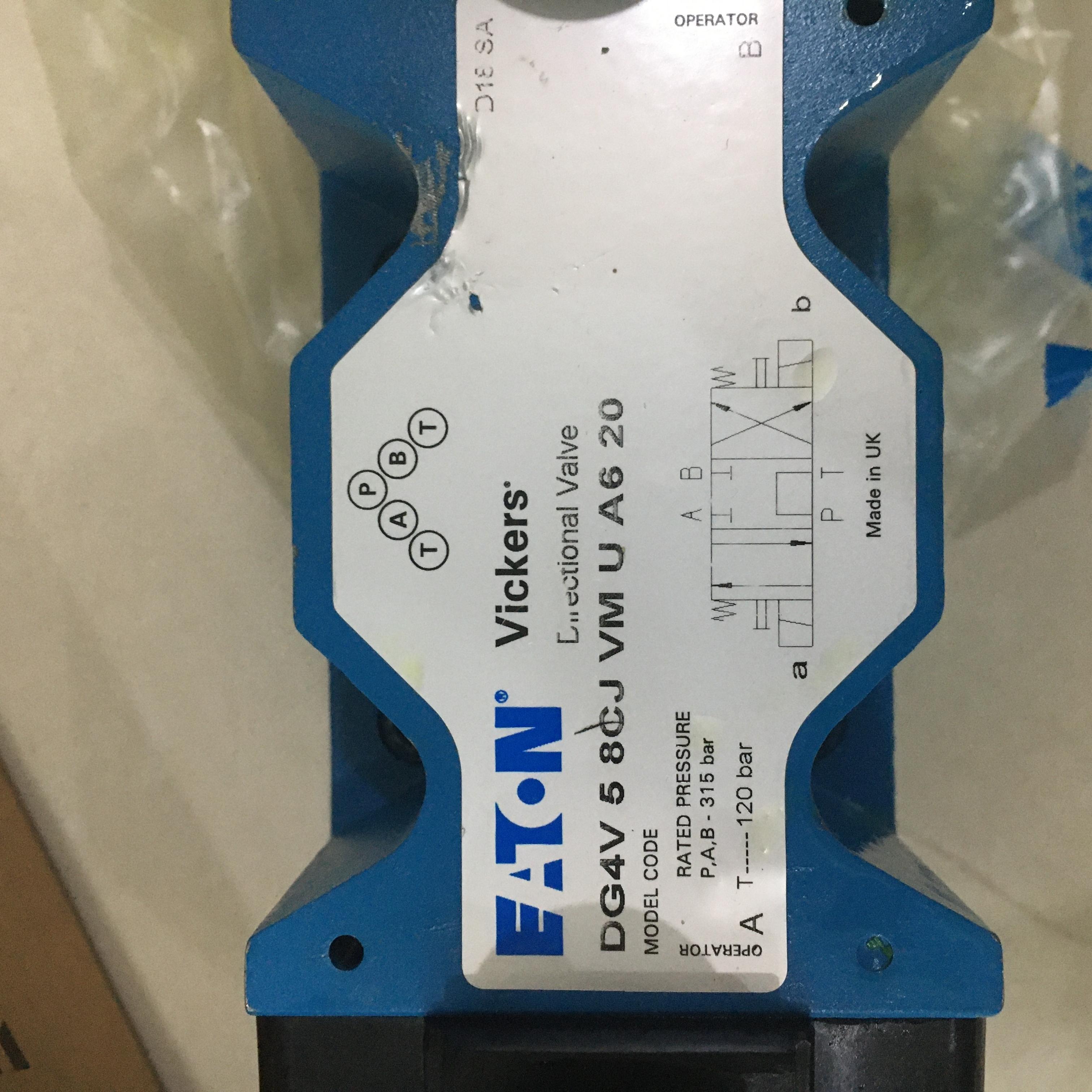 伊顿VICKERS湿式电磁方向控制阀功能