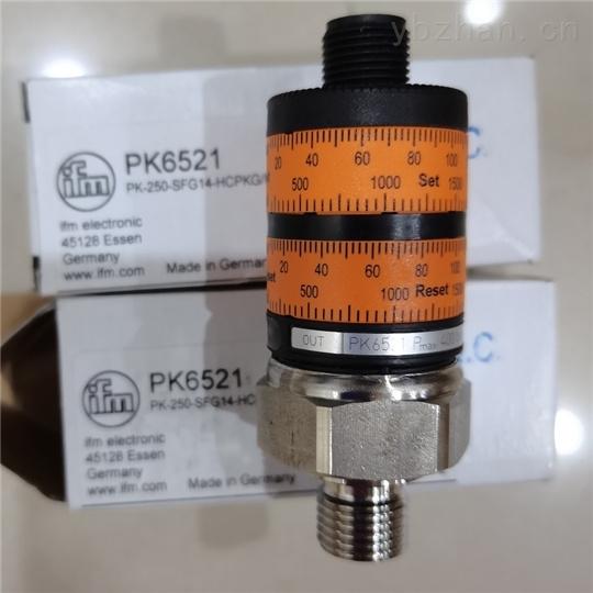 IFM压力传感器技术数据