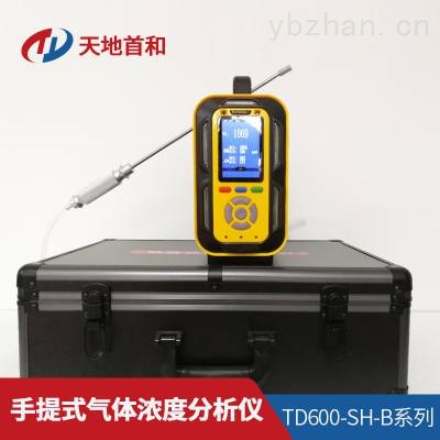 TD600-SH-B-B2H6手提分析仪防爆合格认证