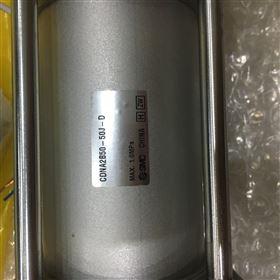 CDNA2B50-50J-D铝缸筒SMC单作用带锁气缸
