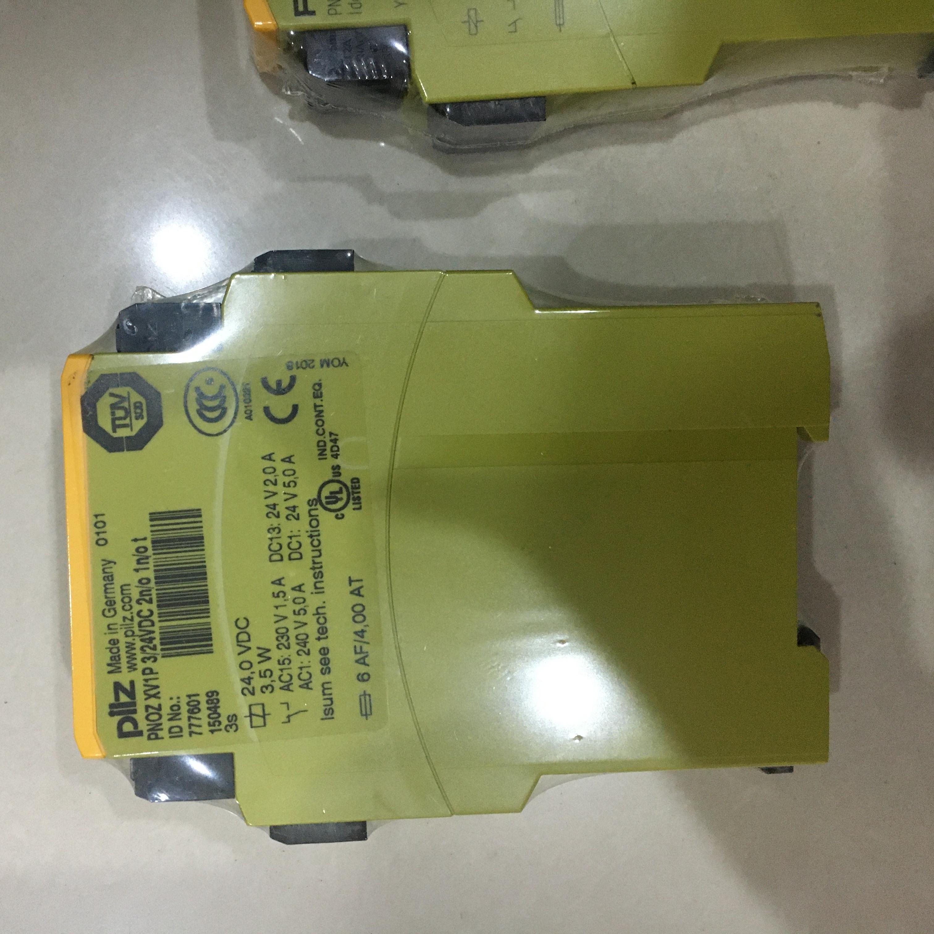 皮尔兹PILZ输入安全继电器