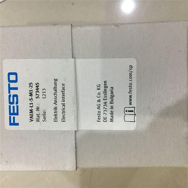 阀岛附件FESTO电气连接部件电接口