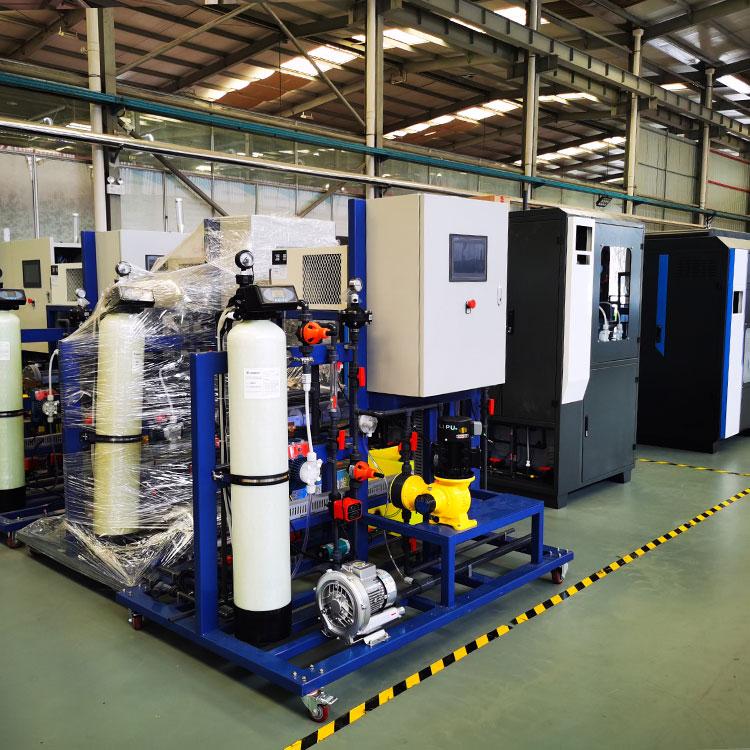 河南水厂消毒设备次氯酸钠发生器案例