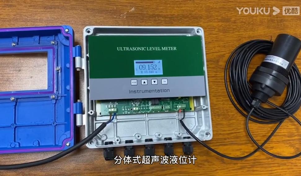 分體式超聲波液位計如何調試高度設置?