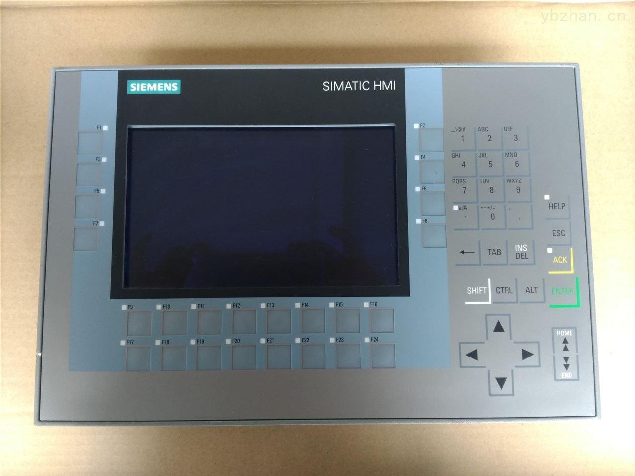 西门子MP377触摸屏通讯连接不上