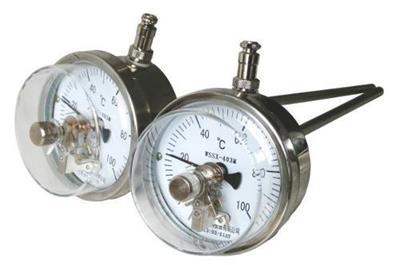 <strong>电接点双金属温度计</strong>的型号参数与工作原理
