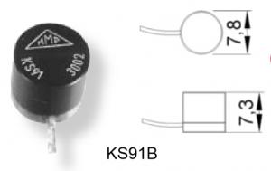 ks91b微型加速度传感器
