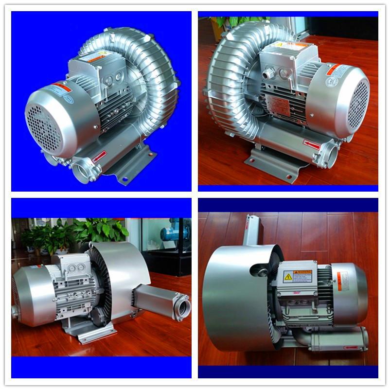 TWYX鼓风机 高压旋涡风机 双叶轮高压鼓风机0.2kw-25kw单段式漩涡气泵示例图3