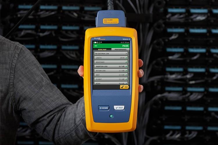 FLUKE DSX2-5000、8000 CH线缆测试仪