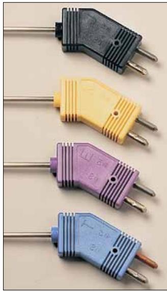 <strong>OMEGA低噪热电偶探头带耐高温标准型连接器</strong>